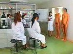 精子研究プラントではよくある光景