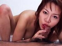 爆乳痴女のエロパイズリ手コキフェラで精子ドクドク