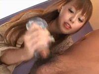 関西弁の可愛いお姉さんが寸止め焦らし手コキ