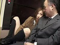 バスに乗ってたら激カワ女子校生