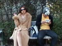 公園で美熟女に家に誘われ痴女的セッ○ス