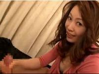 美熟女橘エレナさんのローション手コキ抜き