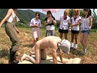 搾りたての精液が飲めるザーメン牧場