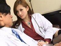 美人痴女医「私のオナニー見てたでしょ?」