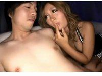 痴女黒ギャルのかなりエロい乳首舐めテクニック
