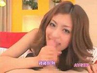 派手な美人顔の痴女女教師に誘われてハメ撮り 麻田有希