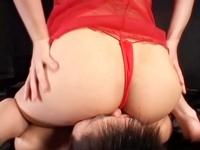 デカ尻痴熟女の顔騎&尻ズリち○ぽ虐め