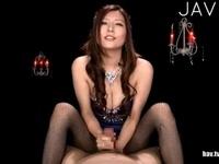 椎名ゆなの痴女テクを使って最高の快感に誘う主観エロ動画