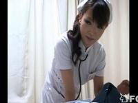 担当看護婦が美人な上にメッチャ良い体で勃起してしまった結果
