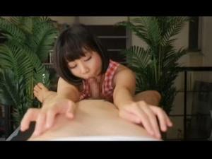 主観でカワイイ女の子にフェラをされながら乳首をも責められ2回射精してしまう 篠宮ゆり