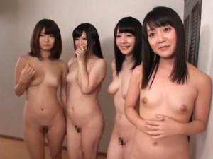 姉が住んでいるシェアハウスではみんな全裸で過ごしてるらしい 川村まや 有本紗世 椎名みゆ 里咲しおり