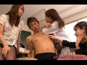 痴女教師3人組がイジメっ子の生徒にお仕置き 水元ゆうな 愛原さえ 早乙女ルイ