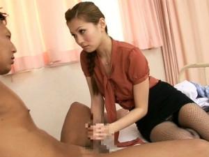 性欲旺盛で患者を痴女りオナニーを見せつけるグラマラス変態女医 一ノ瀬アメリ