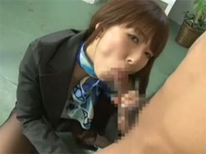 エロいフェロモンとエロい体を使って上司を痴女ってコントロールする痴女OL 波多野結衣