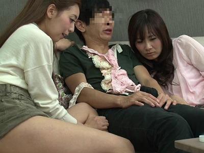 20歳のヒキニートの姉が誕生日に友達を呼んでくれたけど酔っ払って逆レイプされた 大場ゆい 本田莉子 橘花音