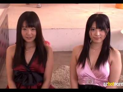美女2人が密着してくれるハーレム3Pソープランドでの痴女プレイがエロい つぼみ 上原亜衣