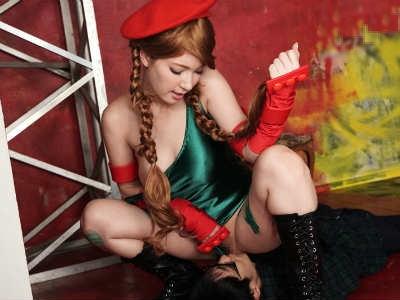 「シャッター音を聞くと濡れてくるんです」コスプレオフ会でチンポを漁るハーフ美人のコスプレイヤー ティア