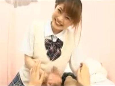 「たまってたんだね」アニメ声の女子校生が手コキしてくる主観痴女動画 桃瀬れな