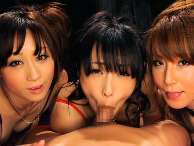 ゴージャスかつ痴女過ぎるベテラン女優3人が1人のM男を骨抜きにする 管野しずか 川上ゆう 澤村レイコ