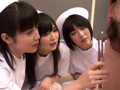 泌尿器科のナースたちが患者のチンポを罵倒するフェチ痴女動画 阿部乃みく ほのかまゆ 小西まりえ 有本紗世