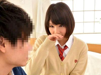 視聴者参加型の童貞喪失ドキュメント!ショートヘアのロリ系美少女が初体験の相手!葵こはる
