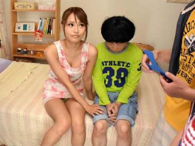 隣に住む少年の童貞チンポを生挿入して中出しさせるショタコンお姉さん 悠木ユリカ