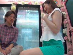 美しい淫語痴女が亀頭だけ挿入して騎乗位セックスする主観動画 蓮実クレア