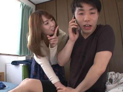 「ねぇ、セックスしよ!」離婚した出戻りお姉さんが弟を誘惑!波多野結衣