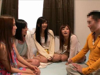 「セックステクには自信がある」そんな素人男を責めて撃沈させるAV女優4人組 友田彩也香 さとう遥希 大槻ひびき 琥珀うた