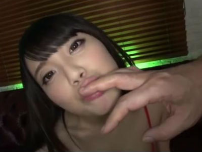 舐めるの大好きエロ痴女は指もチンポをジュルジュルヨダレまみれにしてフェラチオ 栗原葵 天音ありす