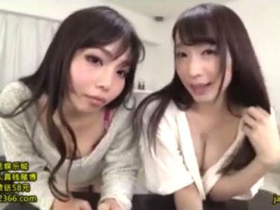 エロいお姉さんの2人組がM男を誘惑して翻弄するハーレム3P痴女動画 蓮実クレア 神ユキ