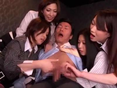 4人の痴女お姉さまたちと1本のチンポ 乃亜 大塚咲 横山みれい 星野あかり