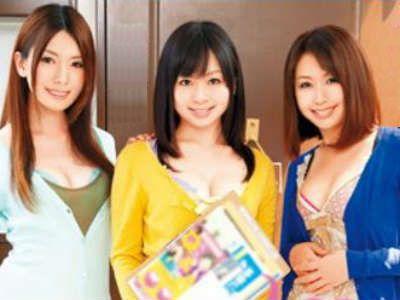 独身のマンション管理人を誘惑する欲求不満な団地妻たち 羽月希 波多野結衣 Maika