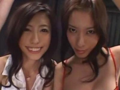 「苦しくないでしょ?嬉しいでしょ?」真性痴女2人から拘束されてオモチャにされるM男 立花里子 乃亜