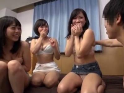 女子大生が宅飲みするとこうなるエロ動画 藤川れいな 七海ゆあ