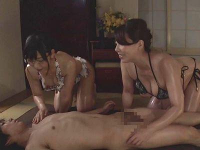 義理の姉と元担任とハーレム3Pセックスするエロドラマ 風間ゆみ 神ユキ