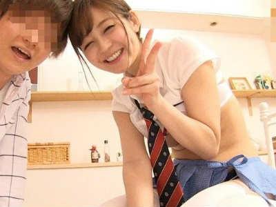 日本一Hなお姉さんと夢の初SEX!優しく手ほどきされ大量射精!