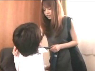 旦那の為に会社のM男な上司にハニートラップを仕掛ける美人な人妻 吉沢明歩