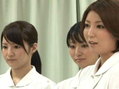 「大丈夫ですよ。恥ずかしくないですよ」女医やナースの射精看護に密着 瀬奈涼 羽月希 内田美奈子