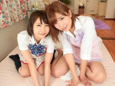 アイドル系美少女を2人まとめて味わい尽くせる最高のシチュエーション 紗倉まな×戸田真琴