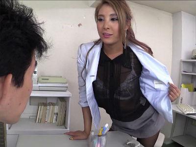 透けスケの服で見せつけるエロお姉さんの甘い誘惑 一条リオン