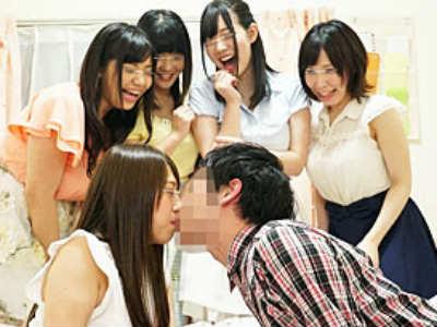 名門大学の女子寮で童貞男子が高学歴JDとハーレム状態で王様ゲームした結果