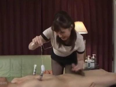 特別な性術で乳首とアナルを開発するM性感開発専門エステ! 潮見百合子