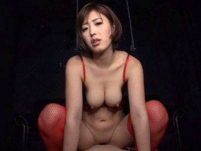 完全主観淫語動画‼「私のオマンコに沢山出して♡」超絶巨乳痴女が騎乗位で激しく腰を打ち付け、中出しセックス
