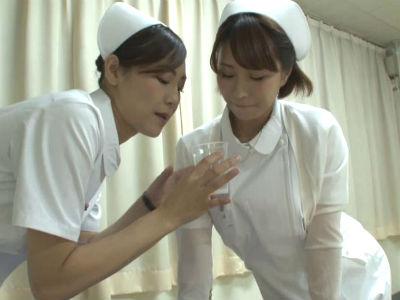 入院中は白衣のナースがノーハンドフェラで精液を抜いてくれる病院