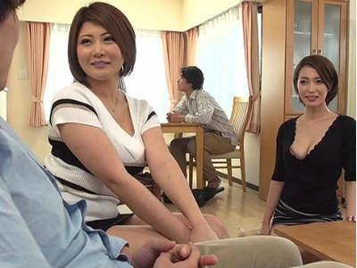 セックスに弱い兄貴とは違うボクの絶倫チンポに興味津々の兄嫁がまたがってきた!