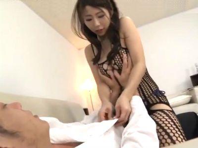 全身網タイツの完璧ボディのお姉さんがスキモノSEX 篠田あゆみ