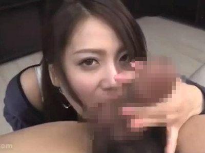 ムチムチお姉さんがお口とおっぱいで気持ちよくしてくれる主観痴女動画 佐々木恋海
