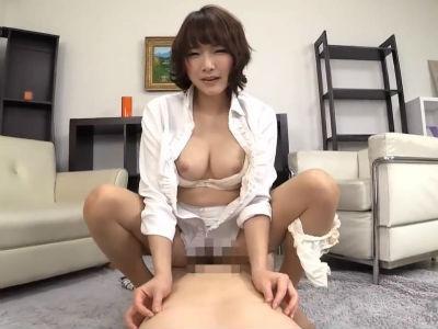 「動かしてほしい?」乳首を責めながら杭打ちピストンをして中出しさせるお姉さん 涼川絢音