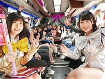 バス車内でSEX生中出し!移動中からヤリタイ放題のハーレム酒池肉林ツアーにゴーゴー!